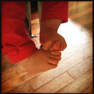 Happy Possum Feet