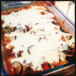 Lamb, Carrot and Zucchini Moussaka