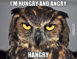 Don't mess with a hangry mama