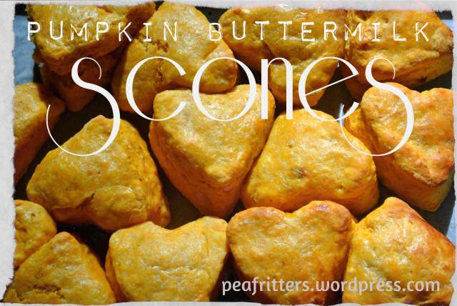 Pumpkin Buttermilk Scones