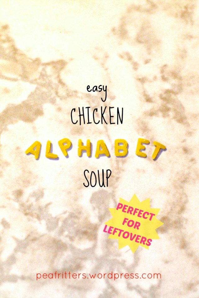 Easy Chicken Alphabet Soup